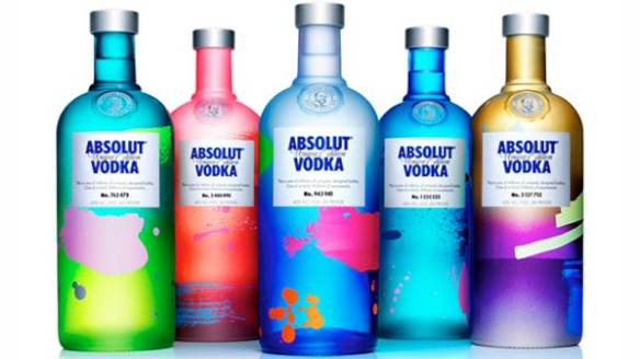 Absolut Unique: Artful Vodka Bottles