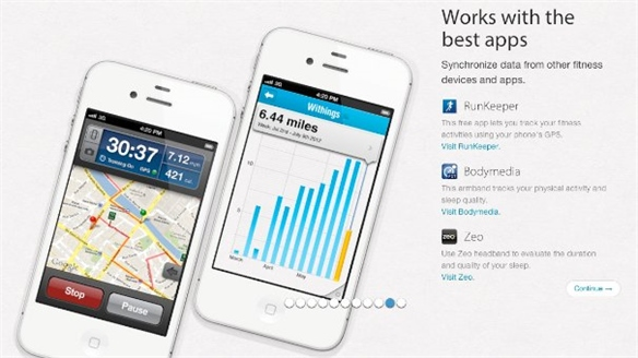 Withings' Health Companion App