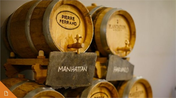 Cask-Aged Liquor: A New Approach