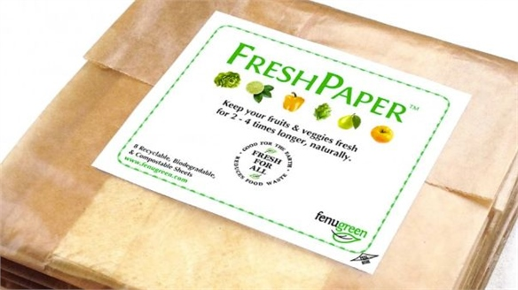 FreshPaper: Food Preservation Sheets