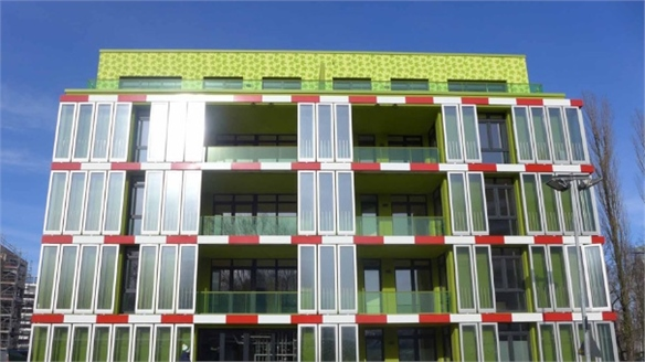 World's First Algae-Powered Building