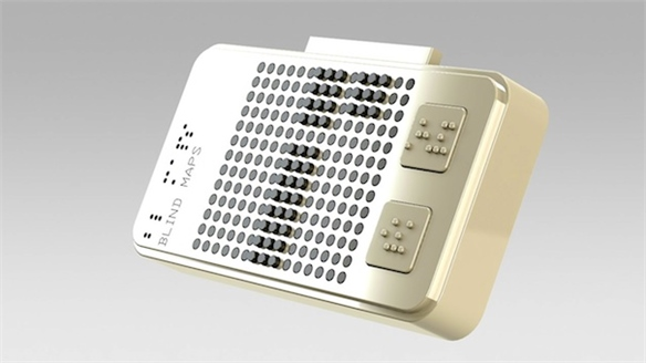 Smart Braille: Maps for the Blind
