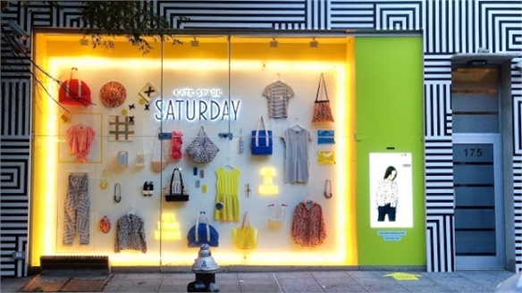 eBay x Kate Spade's Digital Shop Front, NY