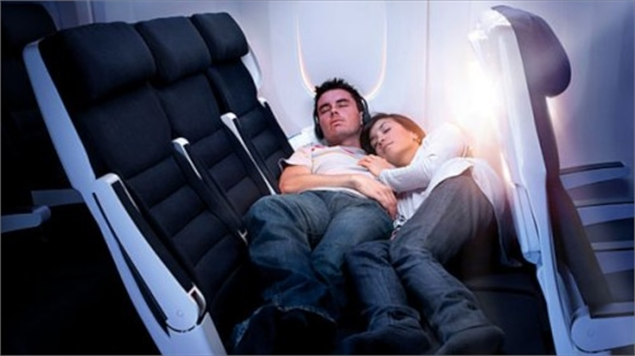 Air New Zealand's Economy Skycouch