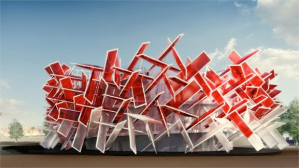Coca-Cola's Architectural Beatbox