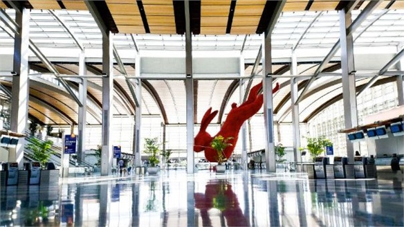 California's Art-Filled Airport