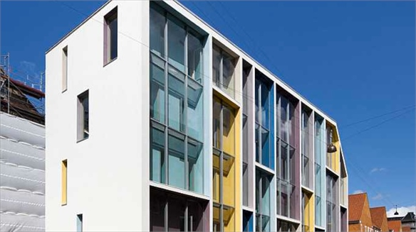 Sølvgade School's Colourful Renovation