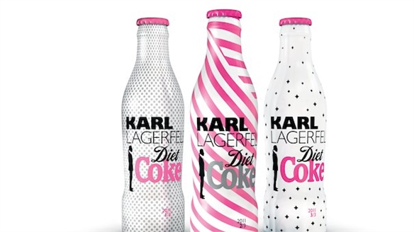Limited Edition Diet Coke Bottles by Karl Lagerfeld