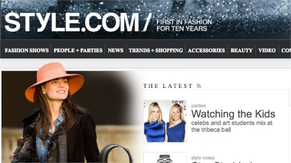 Style.com to Launch Print Magazine