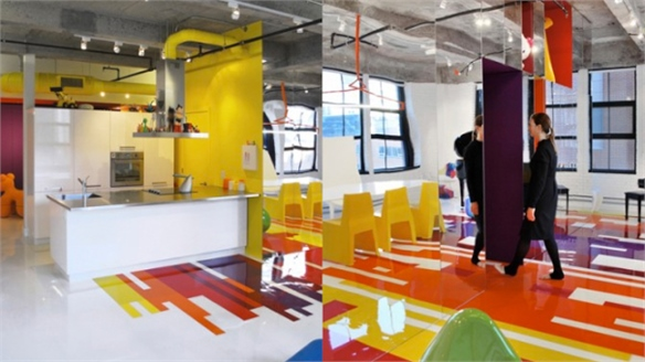 Jean Verville: Prismatic Colours Loft