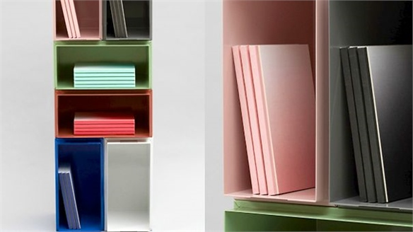 Colour Box Storage by Henriette W. Leth