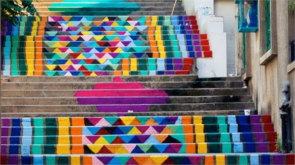Dihzahyners: Colourful Street Art in Beirut