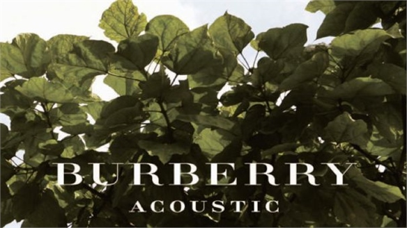 Burberry Acoustic's New Talent