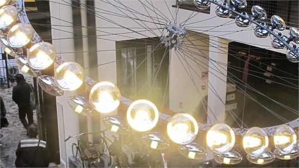 My Bike Chandelier by Tom Dixon