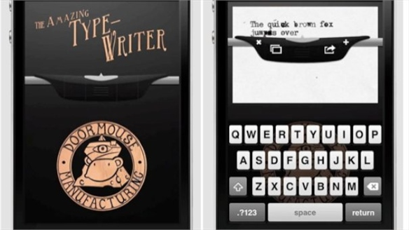 Amazing Type-Writer App