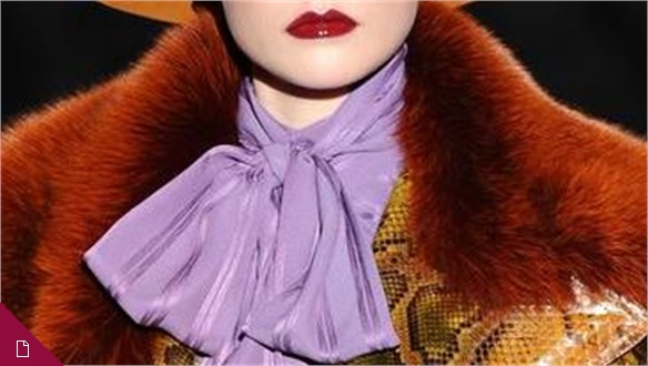 Milan Fashion Week A/W 2011-12: Statement Collars