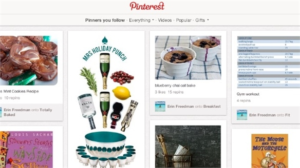 Pinterest's Growing Virtual Pin Board