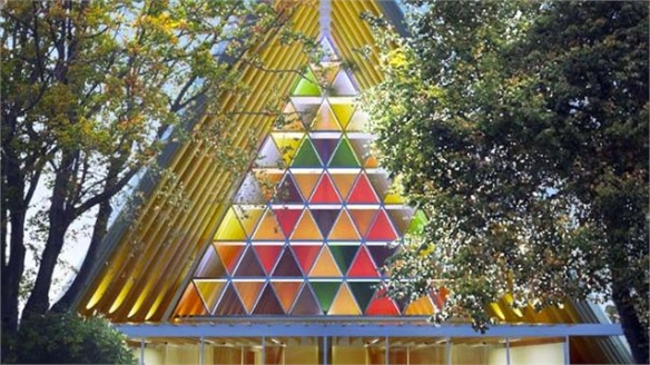New Zealand's Cardboard Cathedral