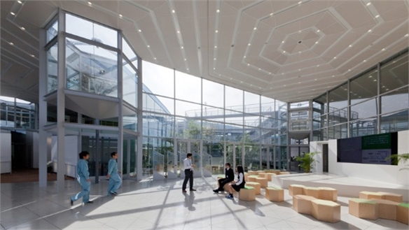 Aron's Adaptable R&D Centre, Japan