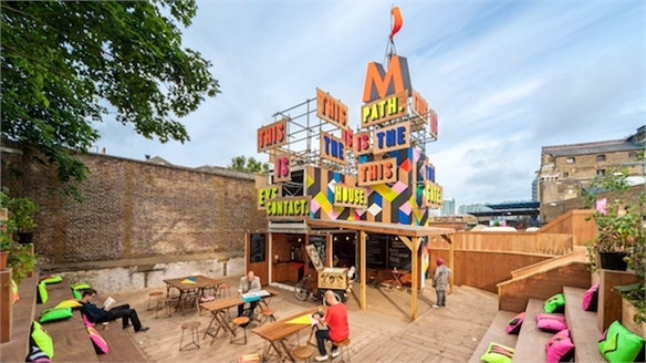 Morag Myerscough's Movement Café, London