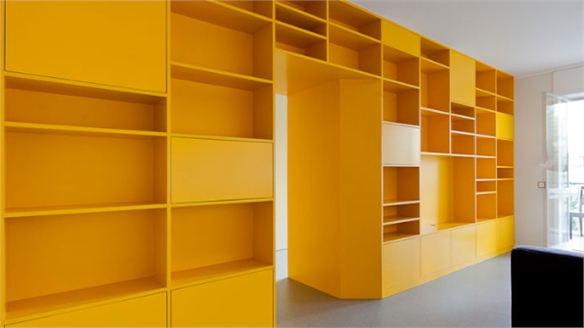Portuguese Apartment Channels Yellow