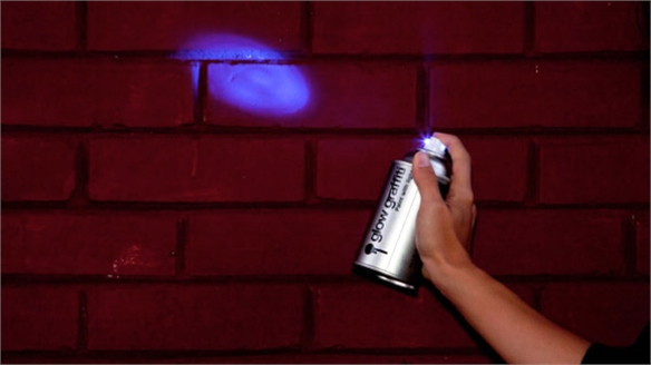 Temporary UV Graffiti