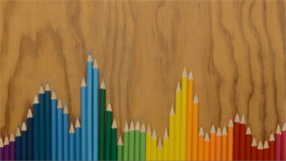 Coloured Pencils in Stop Motion
