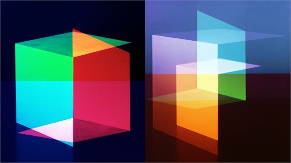 Jessica Eaton: Cubes for Albers and LeWitt