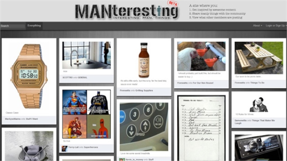 The Rise in Online Pin Boards for Men