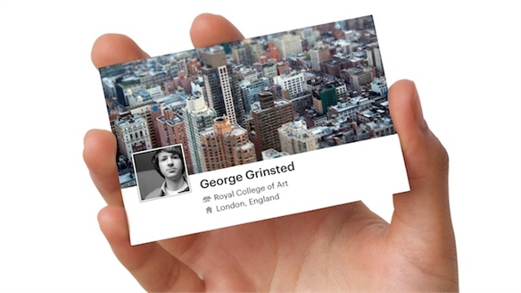 Custom Facebook Business Cards