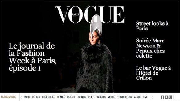 French Vogue Relaunch