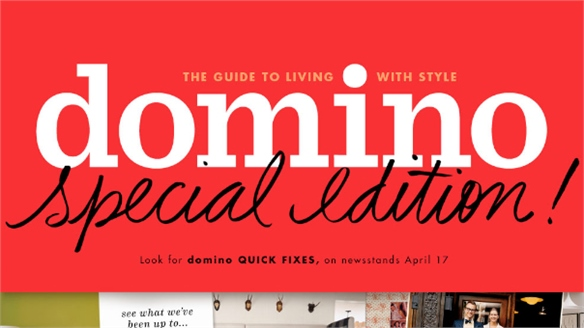 Condé Nast's Domino Revived