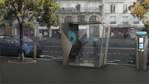 Electric Car Hire Scheme in Paris