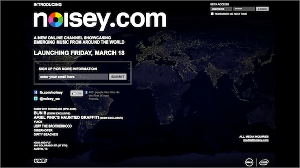 Noisey.com Launches