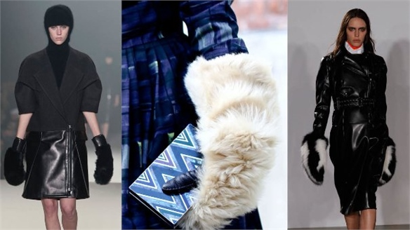NYFW A/W 13-14: Fur Boxing Gloves