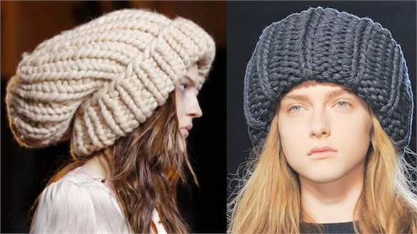 Fashion Week A/W 13-14: Oversized Beanies