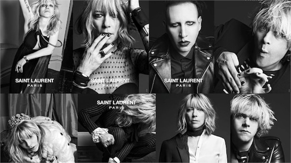 Saint Laurent's Alternative Campaign Stars