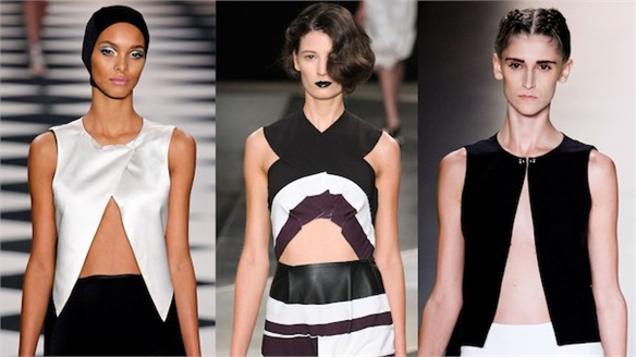 Sao Paulo Fashion Week S/S 14: Maximal Midriff