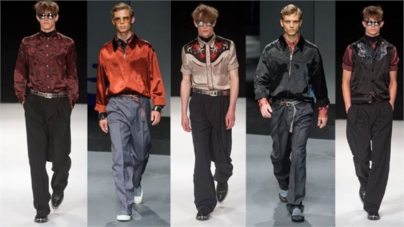 Menswear S/S 14: Satin