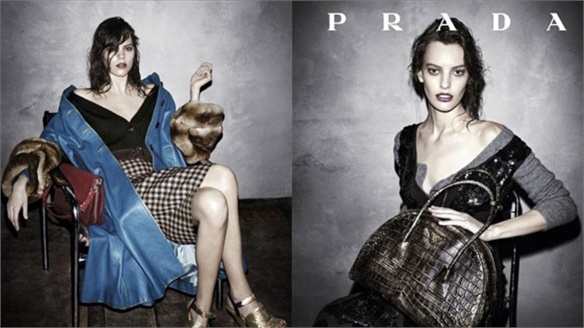 Prada A/W 13-14: Ready for its Close Up