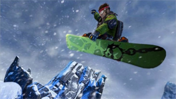 EA Sports SSX Video Game's Detailed Landmarks