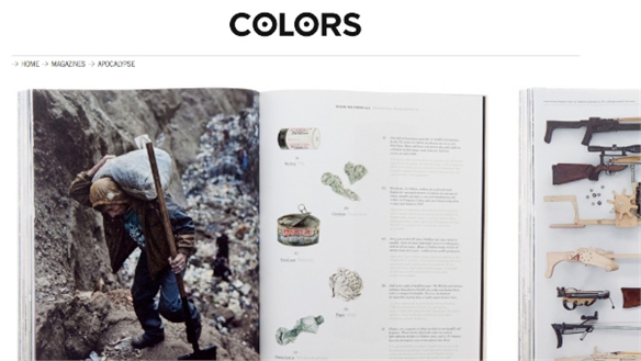 Colors Magazine Contemplates The Apocalypse
