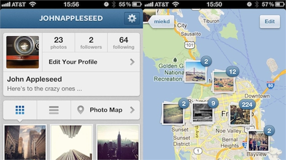 Instagram 3.0 Launches with Map Capabilities