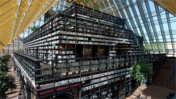 Book Mountain Library, MVRDV Architects