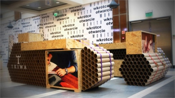 Swedish Watch Brand's Cardboard Pop-Up