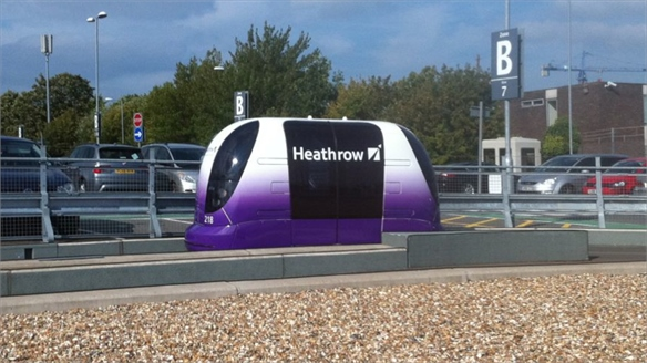 Heathrow Transport Pods