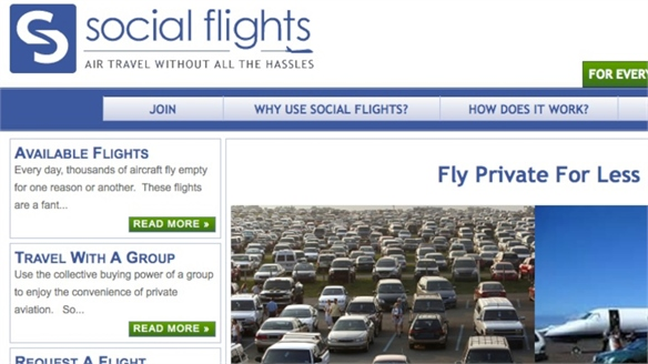Social Flights: Private Jets for All