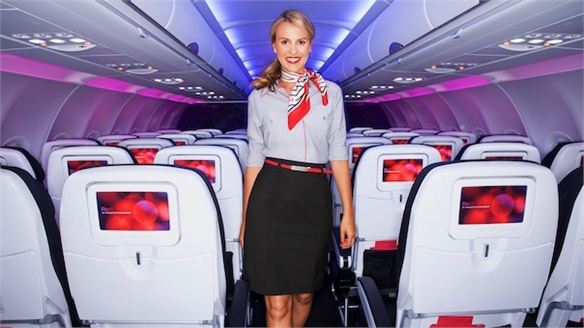 Virgin America's New Uniforms