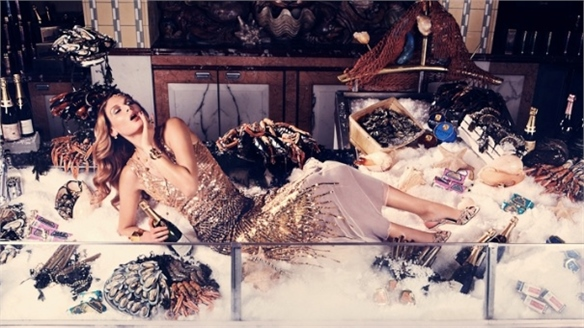 Food Meets Fashion in Harrods' Digital Campaign