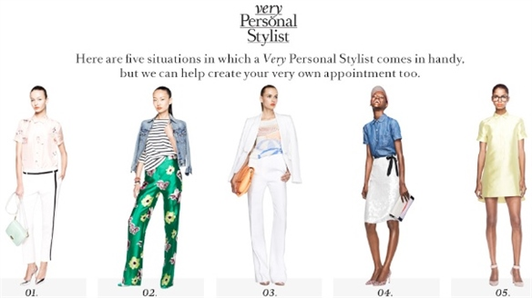 J.Crew App Aids In-Store Stylists